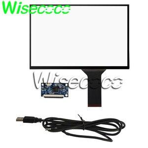 Wisecoco pojemnościowy ekran dotykowy 10.1 cal USB plug and play wsparcie Android linux WIN7 8 10 16:10G + G 16: 9