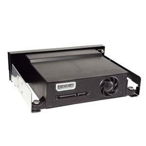 """Image 3 - SATA Internal Tray less Mobile Rack for 2.5"""" or 3.5"""" SSD HDD Hard Drive Backplane Enclosure"""