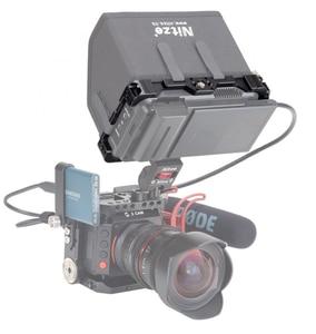 """Image 2 - CAGE pour moniteur NITZE 5 """"pour moniteur ATOMOS NINJA V / SHINOBI avec serre câble HDMI TP NINJA V"""