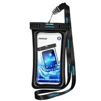 Mpow IPX8 водонепроницаемый чехол для телефона Подводные сумки для плавания чехол для телефона ПВХ кристально чистый ключ сумка для iPhone для ...