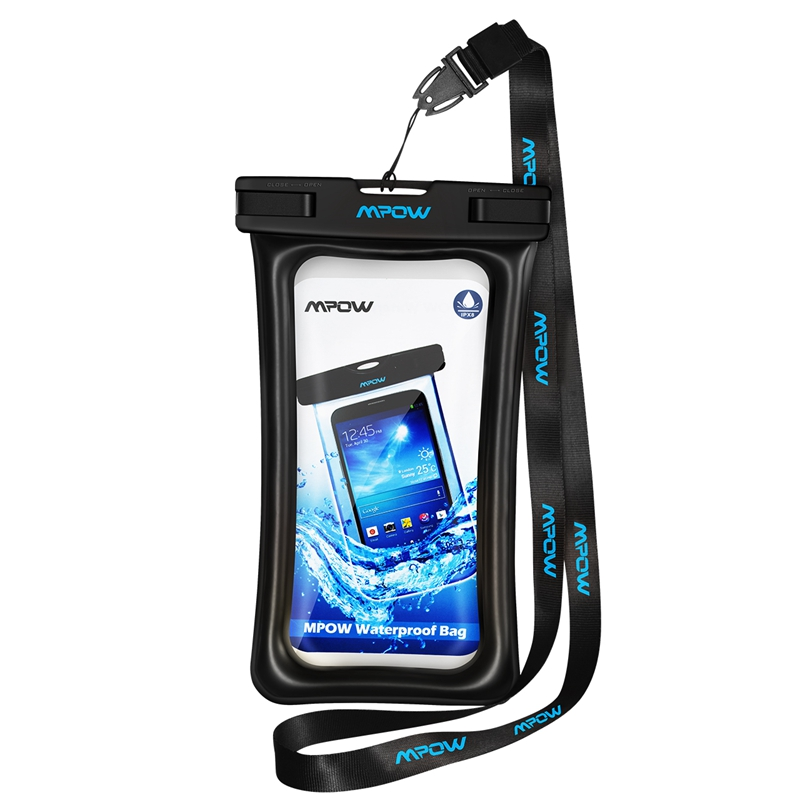 Mpow IPX8 Waterproof Phone Pouch Underwater Swimming Bags Phone Case PVC Crystal Clear Key Bag For iPhone for Samsung for Huawei image
