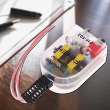 12 В автомобильный стерео радио динамик с высоким и низким RCA линия аудио сопротивление конвертер Автомобильная электроника Аксессуары запчасти для автомобиля