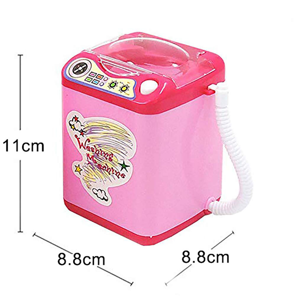 Housekeeping Brush Cleaning Washing Machine Toy Battery Operated Electric Mini