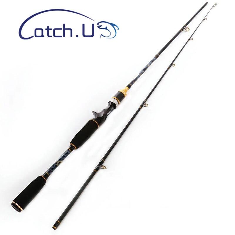 Удочка 1,8 м ультра светильник углерода 2 раздела спиннинг Кастинг стержень Мощность 7-25 г 10-20lb рыболовное снаряжение