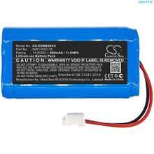 Cameron sino 800mah bateria de vácuo INR14500-3S para ecovacs w830, W830-RD, w850, w930, w950, w830s, w855, w836