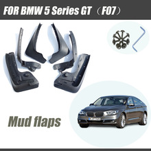 Mud flaps for BMW 5 Series GT F07 Gran Turismo mudguard GT5 fender mudflap splash guards car accessories auto styline Front rear