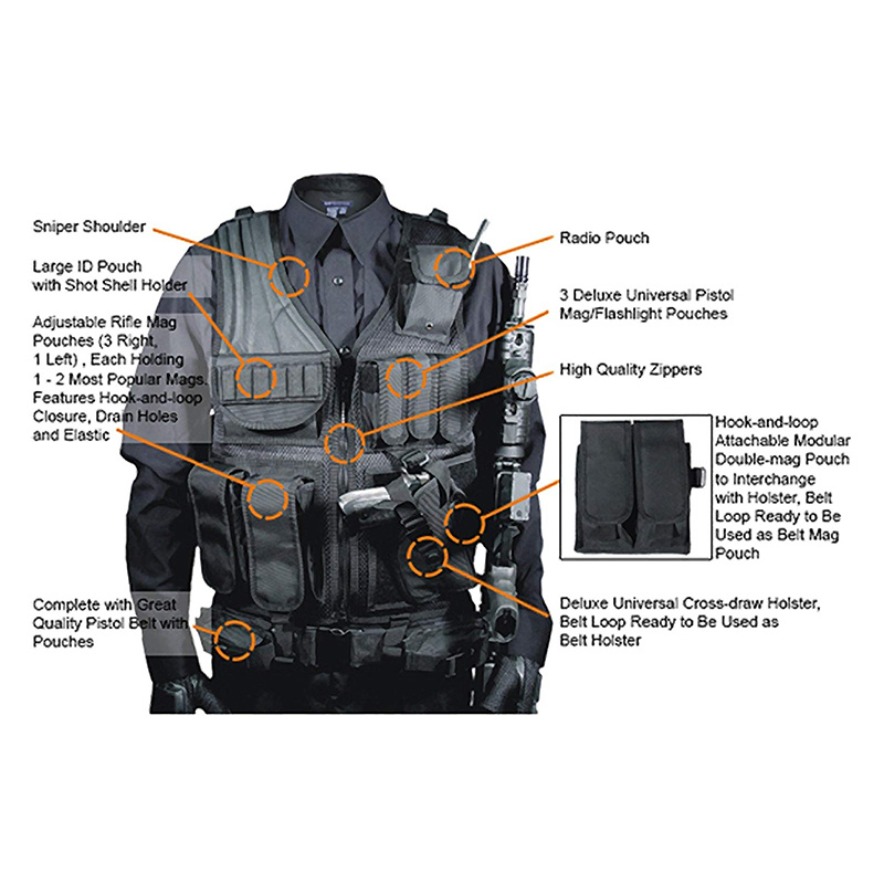 Military Tactical Vest Plate Carrier 6