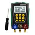 Новинка DY517 манометр Холодильный цифровой вакуумный манометр тестер измеритель температуры 0 кПа ~ 6000 кПа