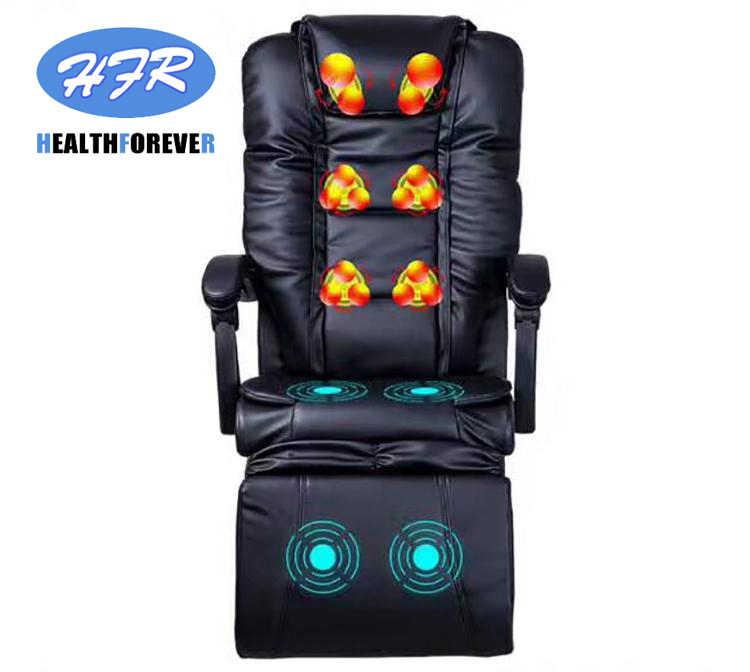 Healthforever Brand Kneading Roller Electric Cheap Full Body Heating Relex Recliner Sofa Office Massage Chair
