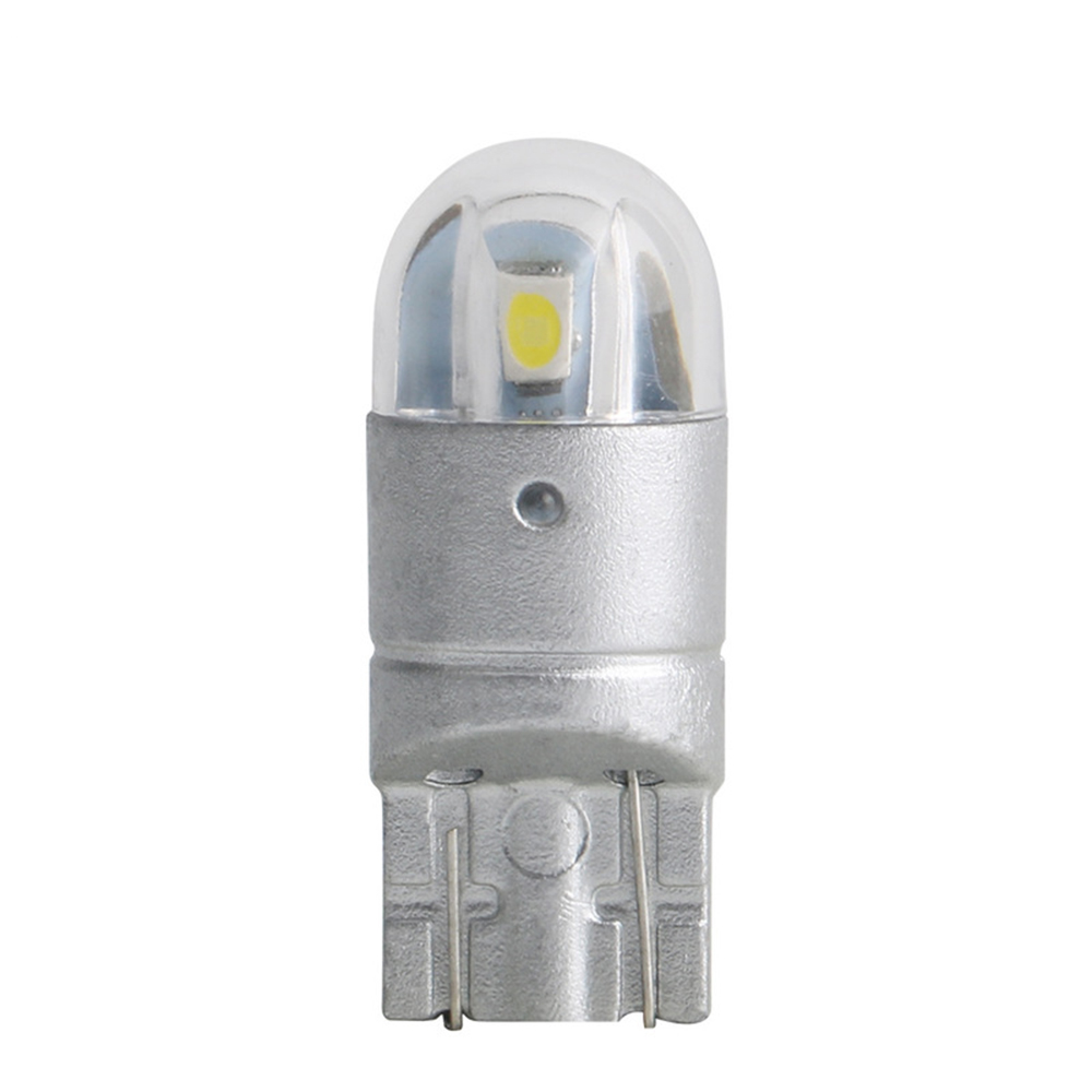 10pcs T10 <font><b>LED</b></font> Car Light 2 SMD 3030 Marker Lamp <font><b>W5W</b></font> WY5W 192 501 2SMD Tail Side Bulb Wedge Parking Dome Light <font><b>Canbus</b></font> Auto Styling image