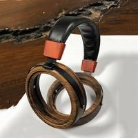 110mm Large Headphone Housing Open Type Headset Headphone DIY Customized Wood Headphone Shell Case