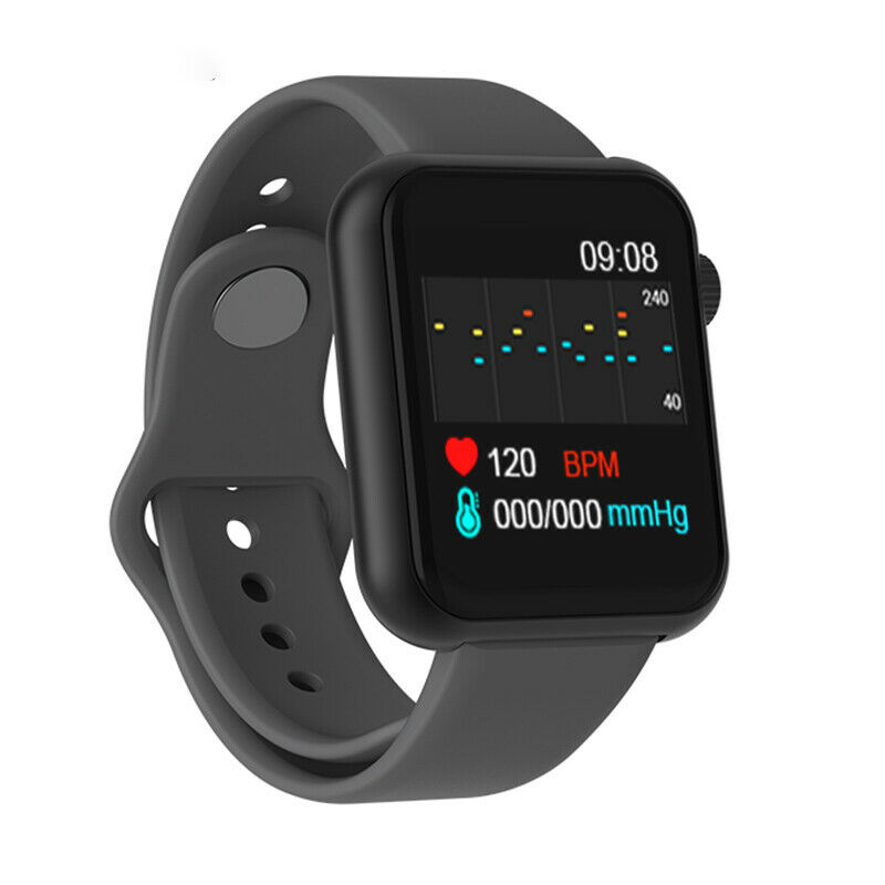 V6 Smart Watch Heart Rate Sleep Monitor GM121 Fitness Wristband For Android IOS Phones