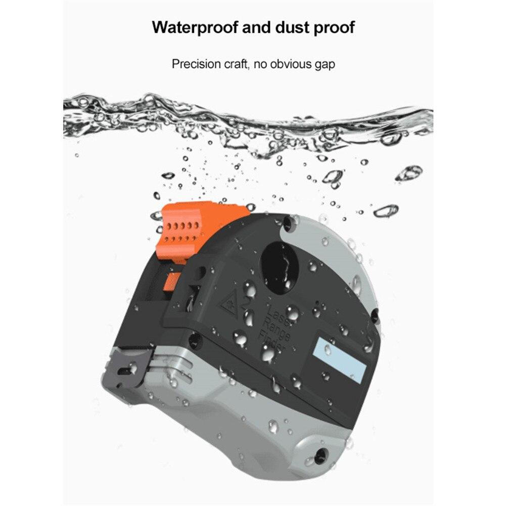 40m Infrared Steel Tape Measure Intelligent Tapeline Laser Rangefinder Digital Electronic High Precision Range Finder