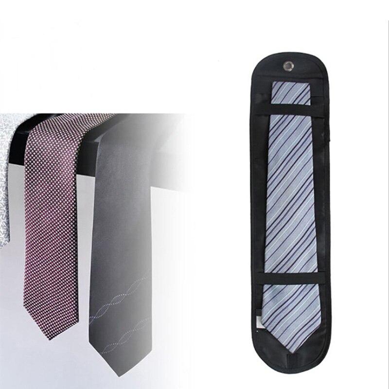 2019 Newly Men Necktie Roll Organizer Bag Nylon Tie Case Storage Waterproof For Business Travel O66