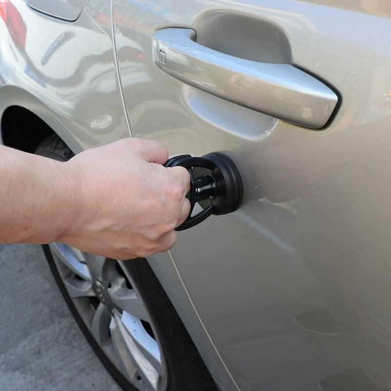 Car Auto Body Vacuum Suctions Cup Dent Removals Repair Tools Handle Puller Set