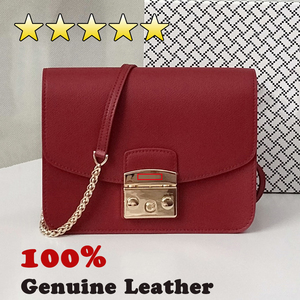 Genuine leather bag designer b