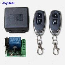 433 МГц Универсальный беспроводной пульт дистанционного управления DC 12 В 1CH релейный модуль приемника и РЧ передатчик электронный замок управления Diy