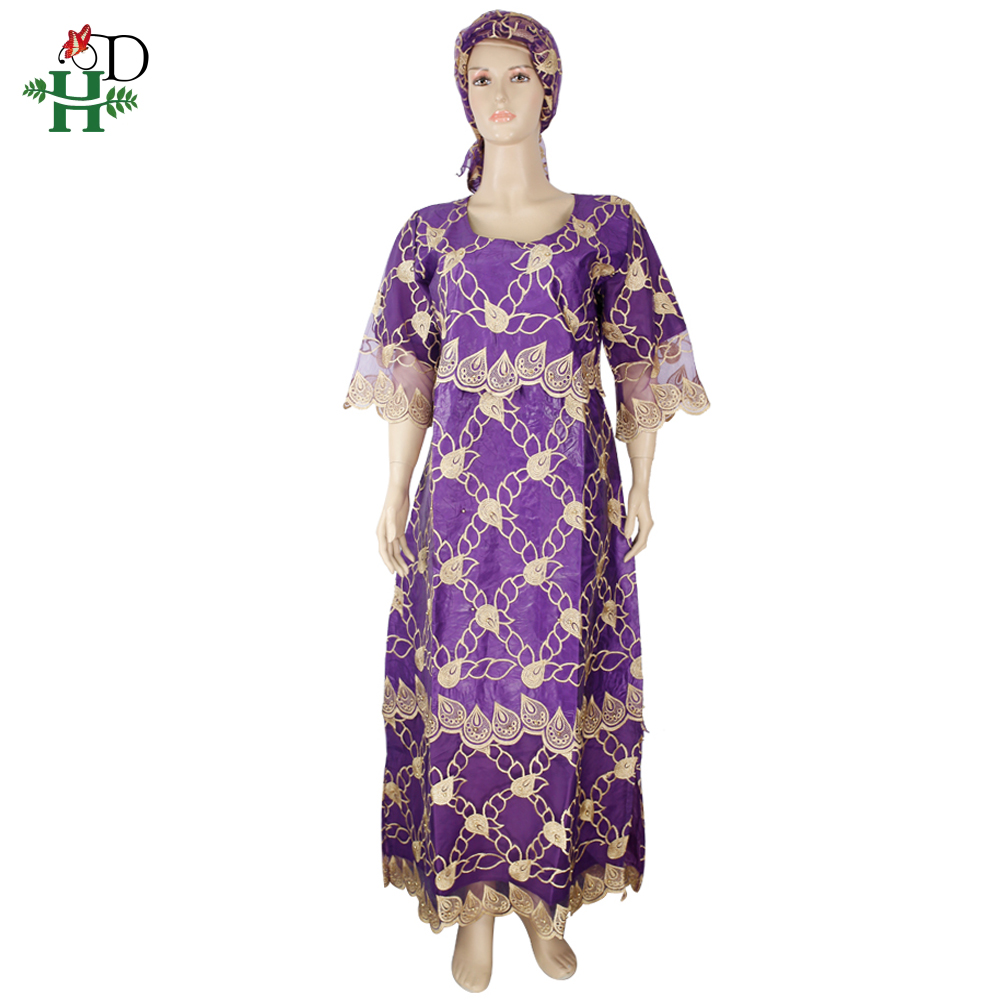 H&D Traditional African Dresses Women Plus Size Long Dress Dashiki Clothes South Africa Ankara 2020 Robe Africaine Femme SP-31
