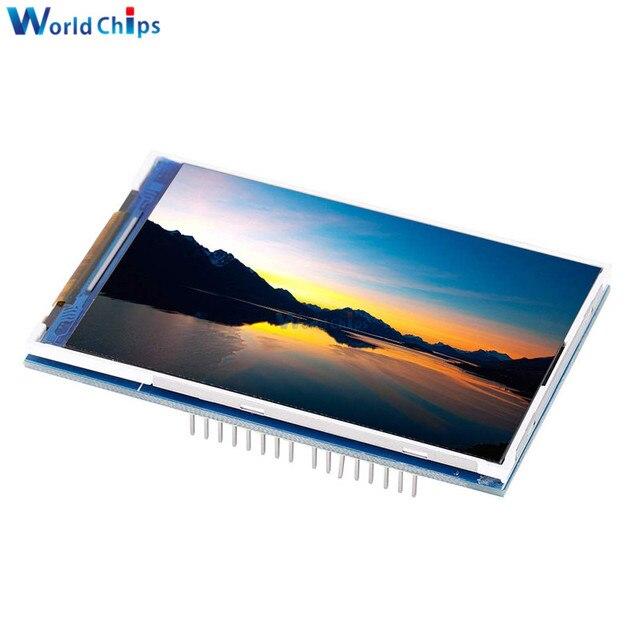 """3.5 """"3.5 אינץ 480x320 TFT LCD מסך מגע מודול ILI9486 LCD תצוגה עבור Arduino UNO MEGA2560 לוח עם/ללא מגע פנל"""