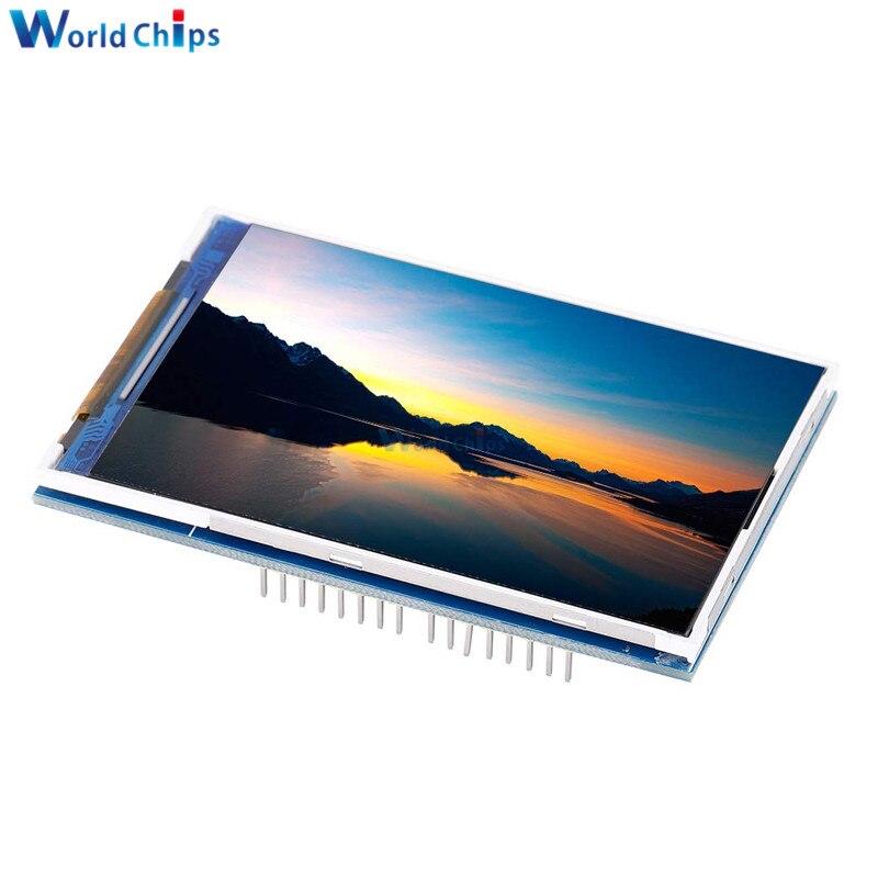 """3.5 """"3.5 polegada 480x320 tft lcd tela de toque módulo ili9486 display lcd para arduino uno mega2560 placa com/sem painel toque"""