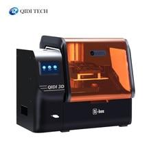 Qidiハイテクs-ボックス樹脂3Dプリンタuv液晶プリンタ、10.1インチ2 18k液晶、4.3インチのタッチスクリーン、215x130x20 0ミリメートル/8.46