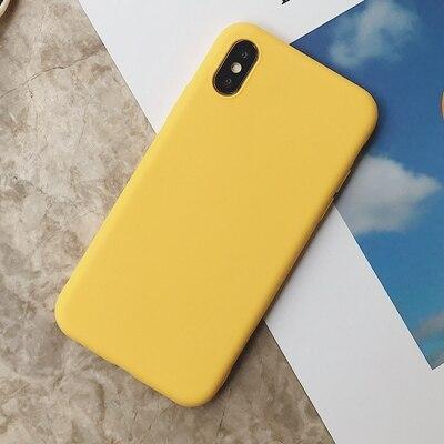 Силиконовый чехол для iPhone 11 Pro Max, чехол из мягкого ТПУ, матовый цветной чехол для телефона s, чехол для iPhone 6 7 8 Plus 6S XS Max XR X Etui - Цвет: SD-6