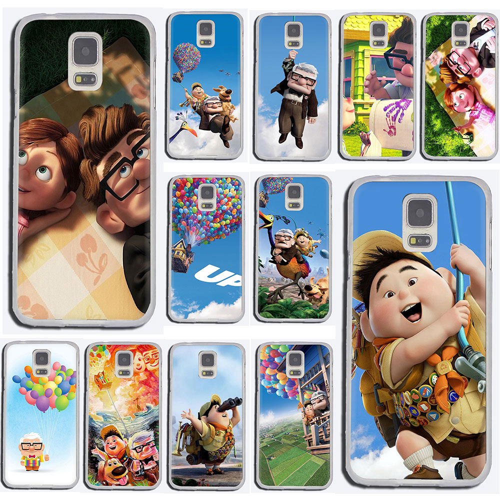 EWAU Adventure Up Pixar Animation Movie Hard phone cover case for Samsung Galaxy S6 7 Edge S8 9 10 Plus Note 8 9 10 M10 20 30 40 image