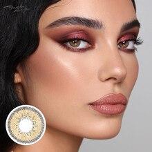 LAREEN 2 pièces/paire lentilles de Contact colorées yeux Athena Seriers lentilles de Contact couleur année lancer lentille de Contact cosmétique pour les yeux