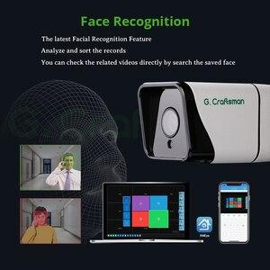 Image 3 - Xm顔検出4CH 5MP poe ipカメラシステムキットオーディオ防水cctvセキュリティビデオ監視H.265 + xmeyeグラム。職人