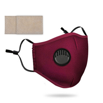 Cotton Men's And Women's Face Mask Fashield Can Be Exchanged For Pm2.5 Filters And Smog Can Be Cleaned Protect Health Care GM