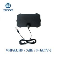 HDTV Digital TV Antenna Indoor DTV Antena Signal Amplifier Booster 1080P Satellite TV Aerial 50 miles Z231 BTVTVJ220130