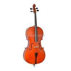 Hohe Qualität Handgemachten Cello Saiten Instrumente Tragbare Matte /gross Cello für Erwachsene Kinder Anfänger Violoncello Cello
