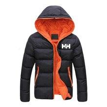 2019 Winter Coat Men Jacket Warm Cotton Jacket Coats Stand C