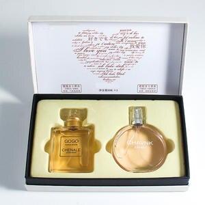 50ML*2 bottle Women Perfume Fragrance Sweet Smell For Women Deodorant Perfumes Lady Original Female Perfume Oil Atomizer Scent