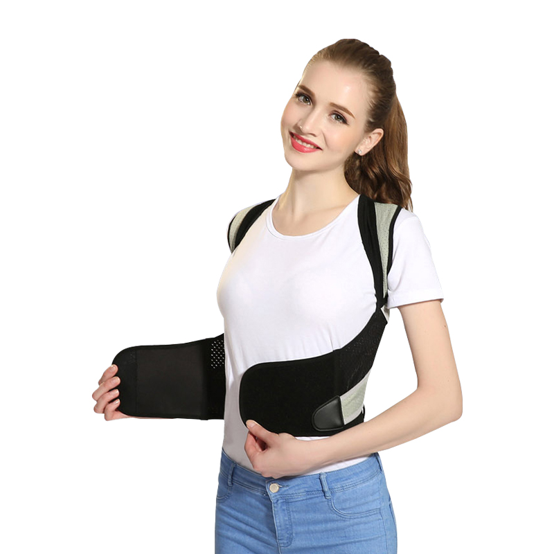 Tlinna Posture Corrector Belt with Adjustable Dual Strap Design to Get Perfect and Confident Body Posture Suitable to Wear Under or Over Clothing 36