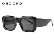 Gafas De Sol cuadradas De Estilo Vintage para mujer, anteojos De Sol femeninos De color negro y rojo, a la moda, con protección UV400, O667