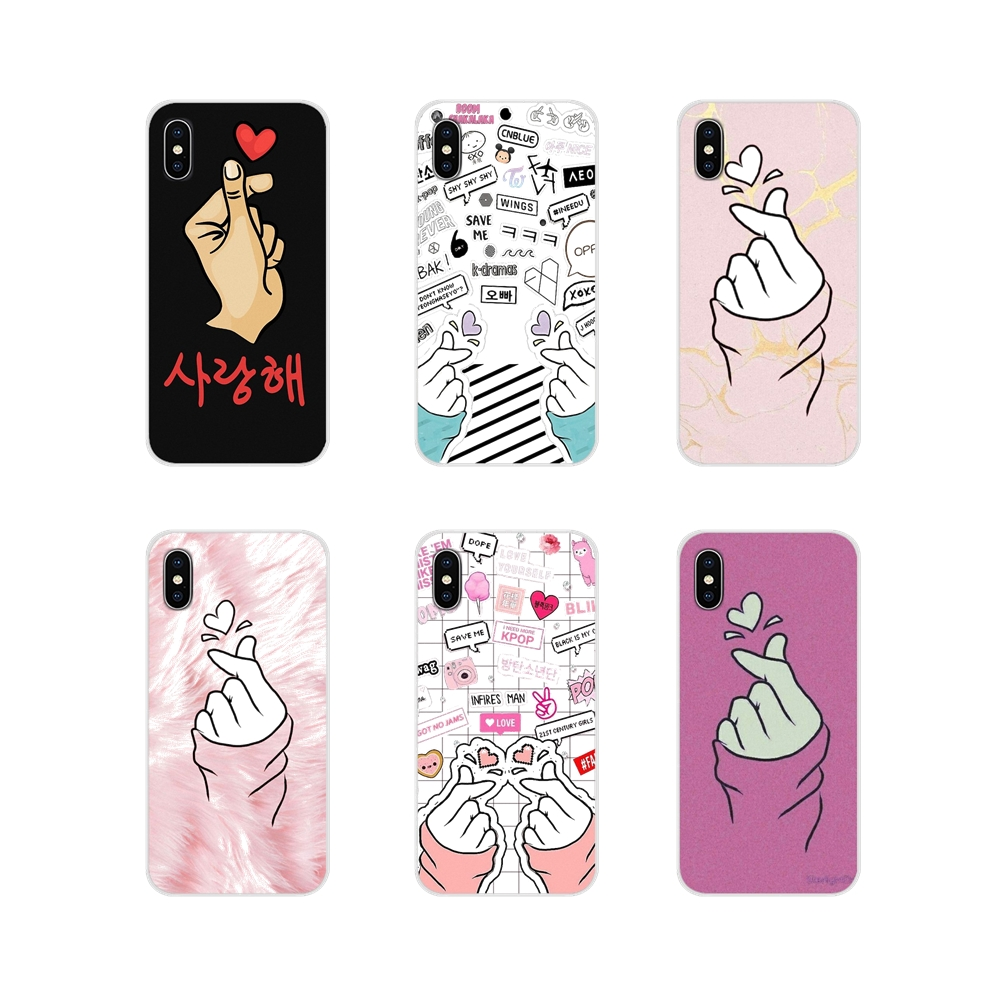 Shell-Cover Mobile-Phone Finger Xiaomi Redmi Note 3 Exo Kpop Love Plus 6A For 4A S2 3S