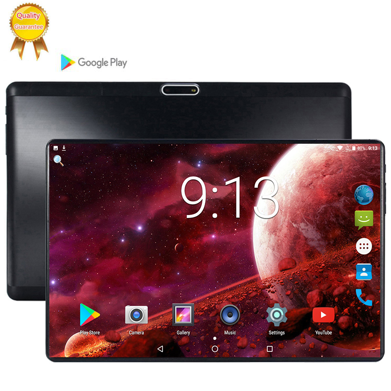 10.1 Inch 2.5D Screen Tablet 8 Octa Core 6GB + 64GB 128GB ROM Dual SIM 5.0 MP GPS Android 9.0 Google IPS The Tablet Pc MT6753