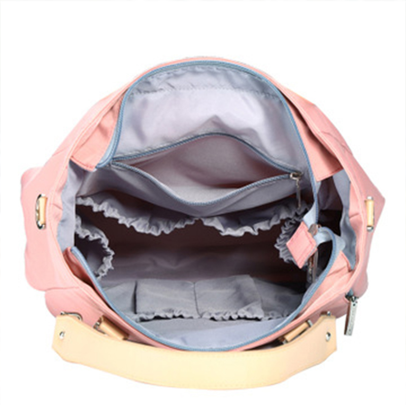 Stylish Baby Diaper Bags Candy colors Waterproof Mummy Maternity Nursing Shoulder Bags Nappy Bags Baby Stroller Bag Baby Care