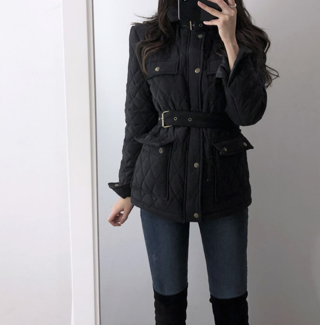 Шикарный дизайн простой однотонный пояс с высокой талией пальто