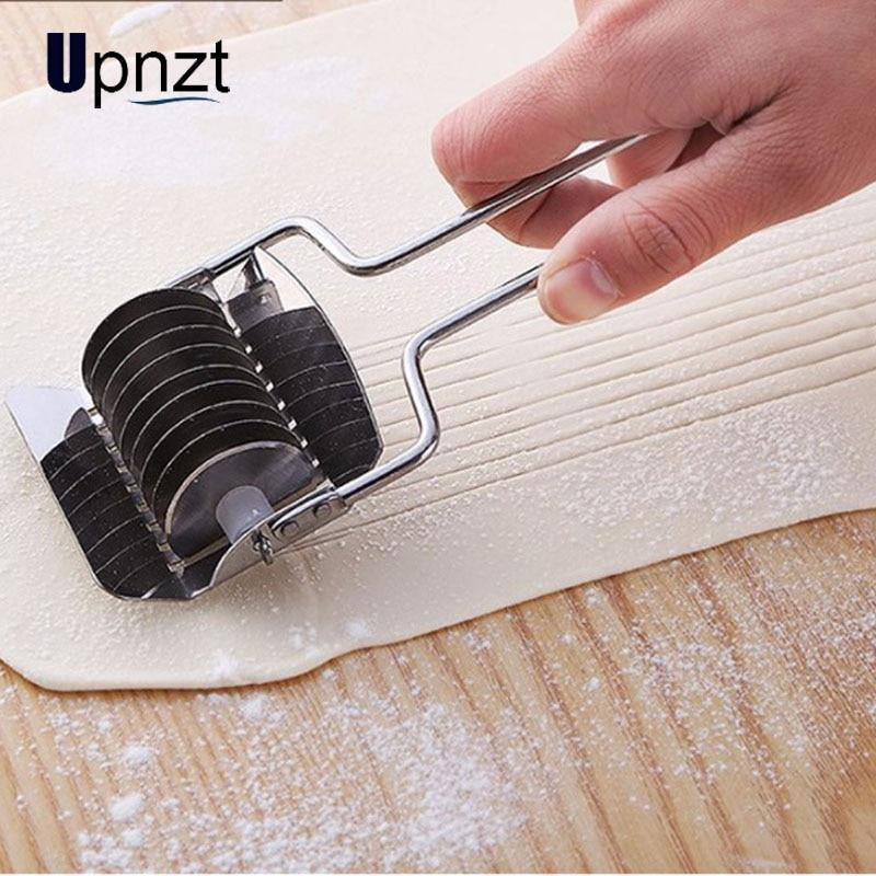 Нержавеющая сталь лапша резак Нескользящая ручка макаронные изделия инструменты ручной шалот секционный резак кухонные гаджеты