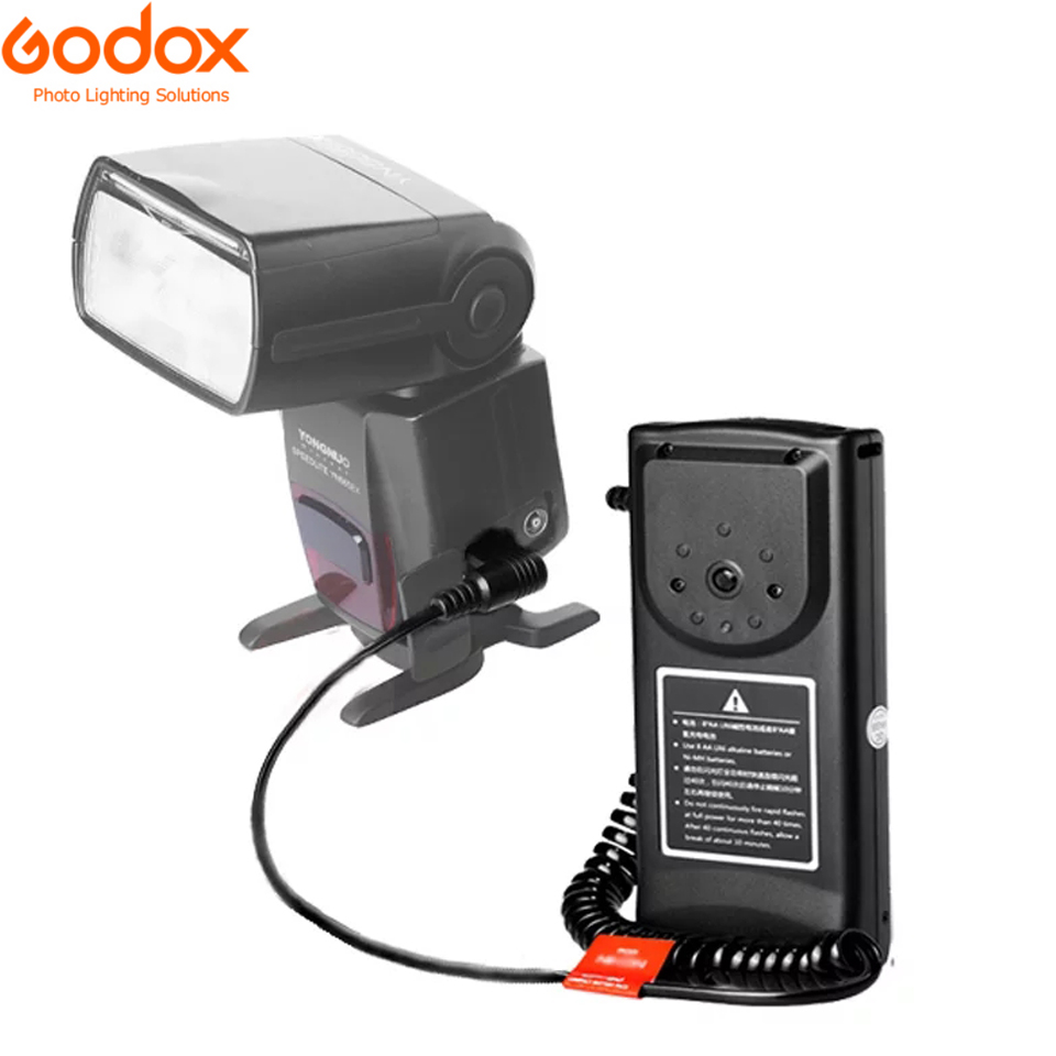 Godox CP-80 Flash External Battery Pack For Canon <font><b>600EX</b></font>-<font><b>RT</b></font>,580EX <font><b>II</b></font>,580EX,430EX <font><b>II</b></font>,430EX, YONGNUO <font><b>YN</b></font>-560IV Viltrox Flash CP-E4 image