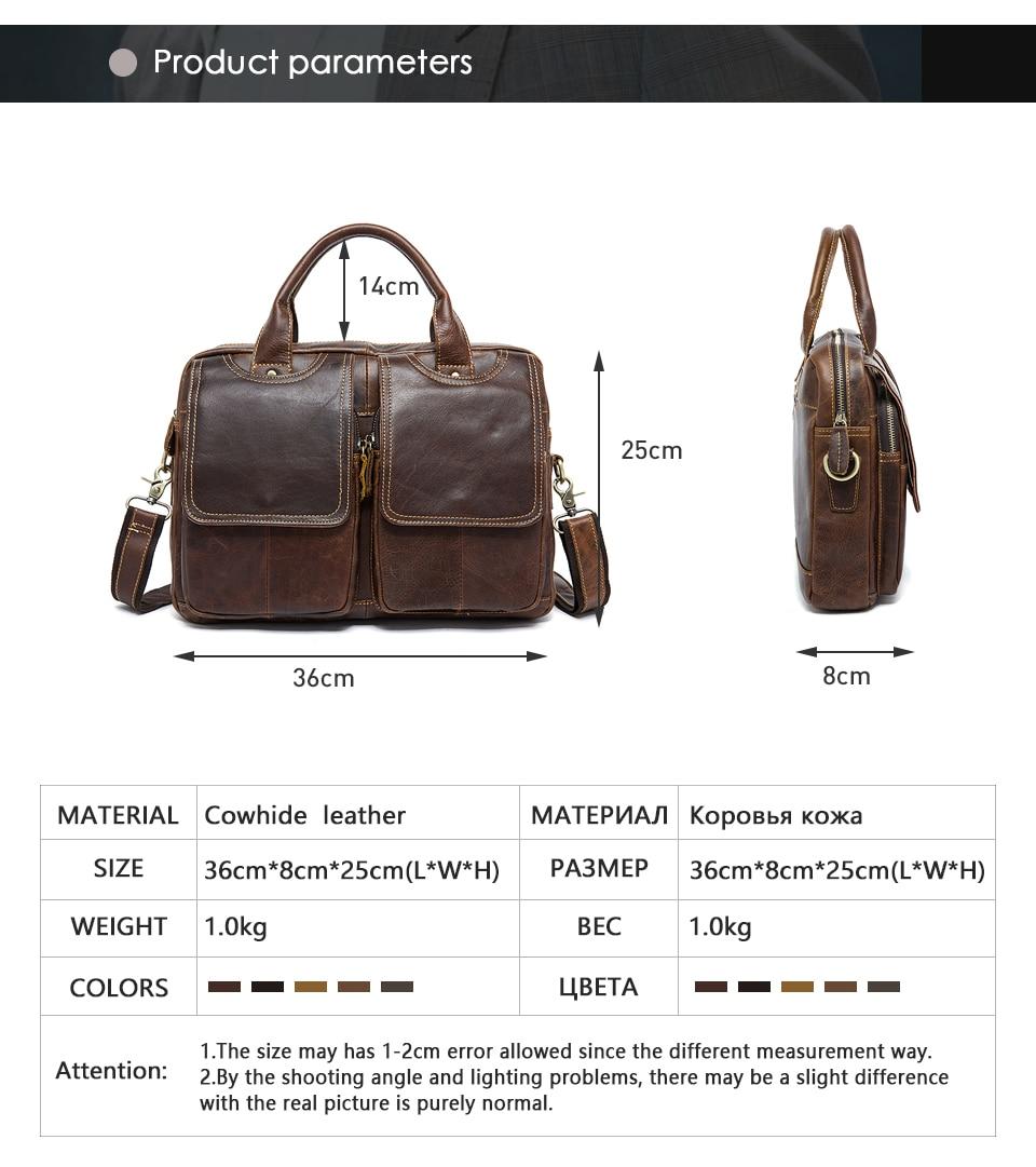 H773e54300c3047cb953c8574625fbed3O MVA men's bag/briefcase leather office/laptop bag for men's genuine leather bag business document man briefcase handbag 8002-1