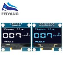 10pcs 1.3 polegada OLED módulo branco/azul SPI/IIC I2C Comunicar a cor 128X64 1.3 polegada OLED LCD módulo de Display LED de 1.3