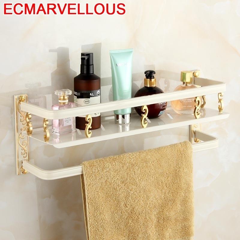 Badezimmer accessori bagno secador de cabelo titular prateleiras parede acessórios chuveiro prateleira salle de bain organizador do banheiro