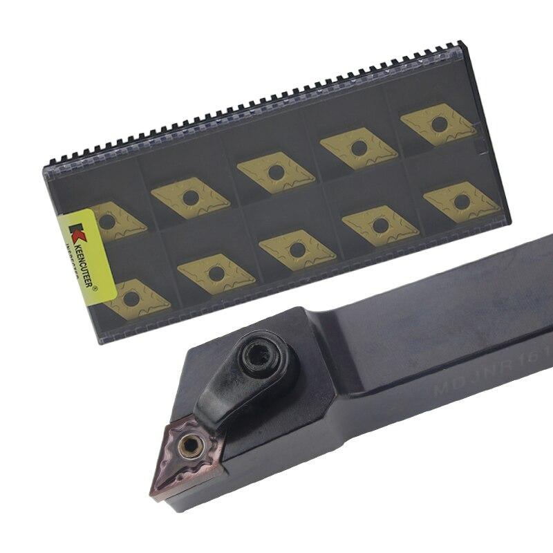 1pc MDJNR1616H11 MDJNR2020K11 MDJNR2525M11 External Turning Tool Holder DNMG Carbide Inserts MDJNR Lathe Cutting Tools Set