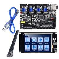 BIGTREETECH SKR MINI E3 Control Board with TFT35 Touch Screen Upgrade for Ender 3 3D Printer Board Driver TMC2209 UART SKR WIFI|3D Printer Parts & Accessories| |  -