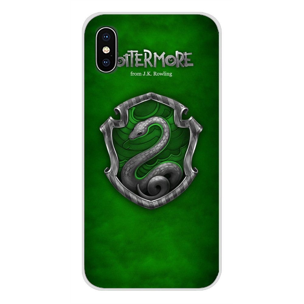 Harry always Slytherin School For Apple iPhone X XR XS MAX 4 4S 5 5S 5C SE 6 6S 7 8 Plus ipod touch 5 6 Mobile Phone Case Covers