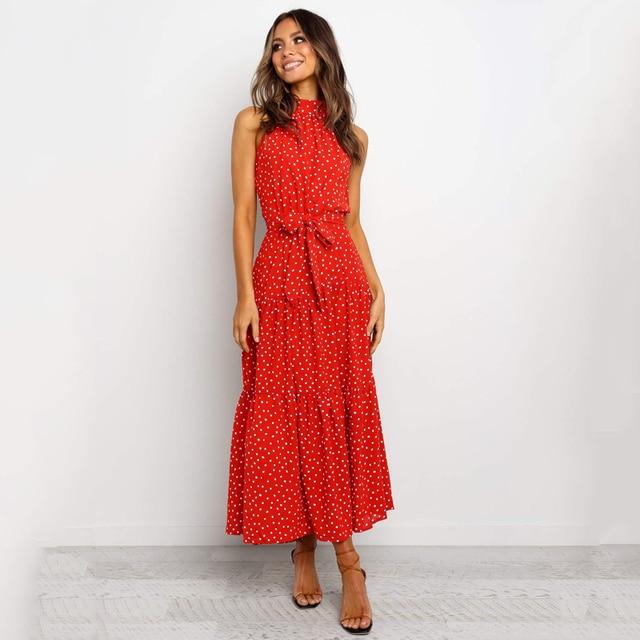 long soft great neckline dress 5