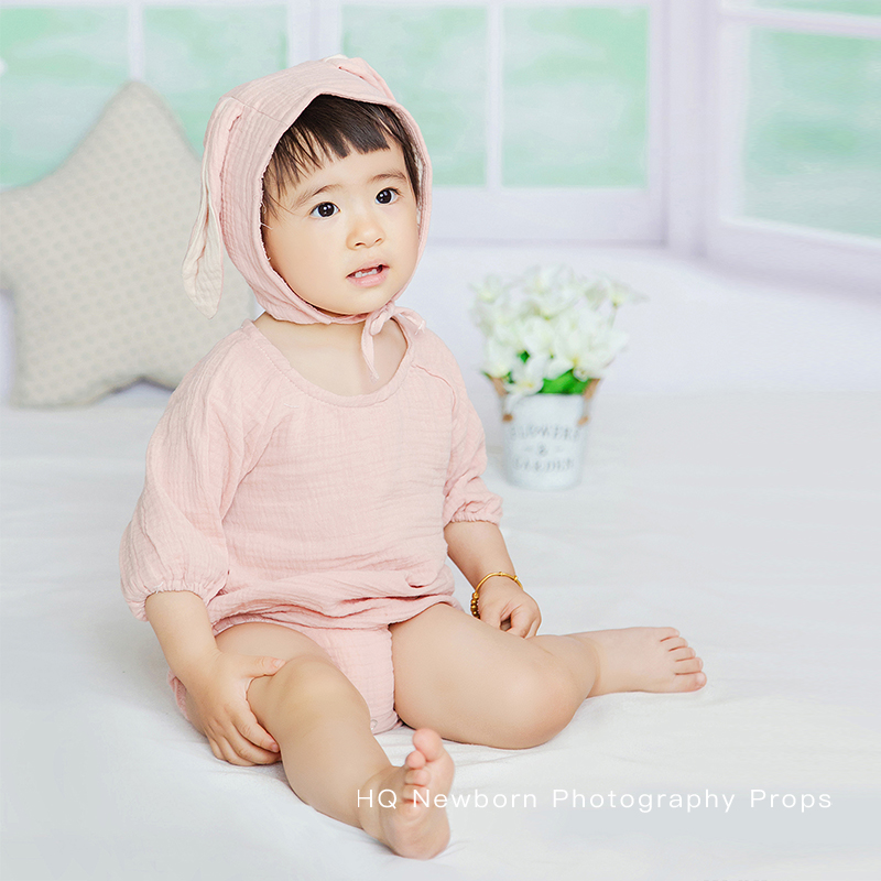 2020 Fotografia Baby Clothes Newborn Photography Props Unisex Romper Bodysuit Photo Studio Outfifs Accessories New Arrival